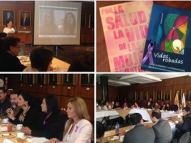 Fundación Desafío y el Frente Ecuatoriano por la Defensa de los DSR Juntas