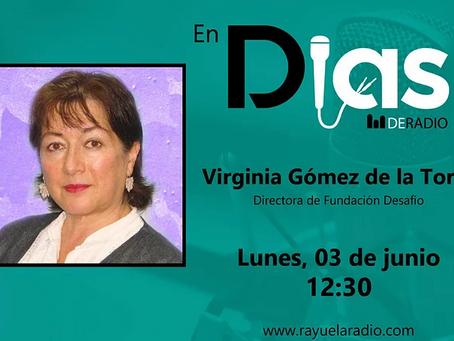 Virginia Gómez de la Torre en Días de Radio
