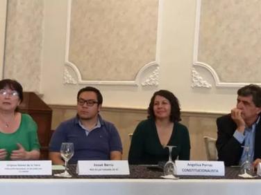 Rueda de prensa con organizaciones que piden pronunciamiento a la corte costitucional