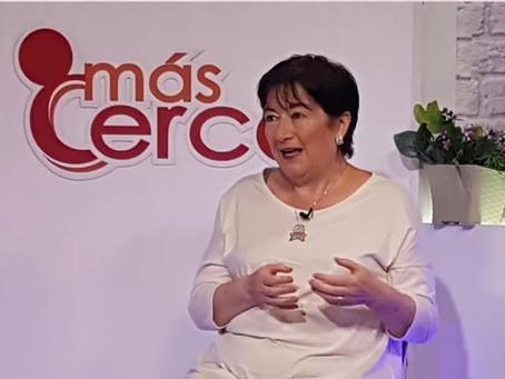 Virginia Gómez de la Torre en Ecuador TV