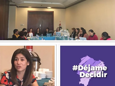 Conversatorio sobre #AbortoPorViolación