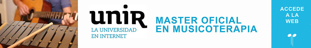 master musicoterapia unir