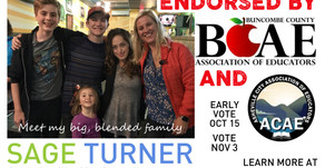 Buncombe and Asheville Associations of Educators