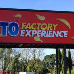 Largo Factory Exterior Branding