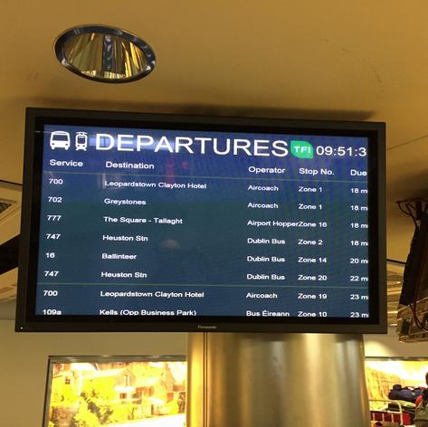 T1 Dublin Airport Baggage Reclaim