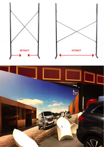 Expandable Banner Stand