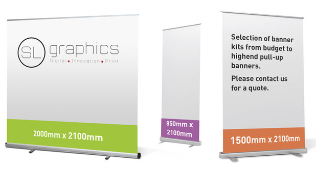 Selection of Pull-up  Banners