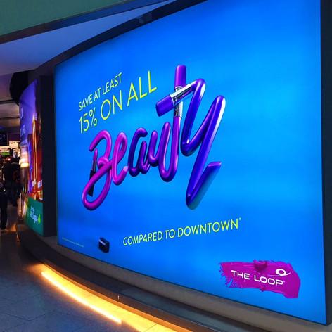 Dublin Airport Backlit Branding