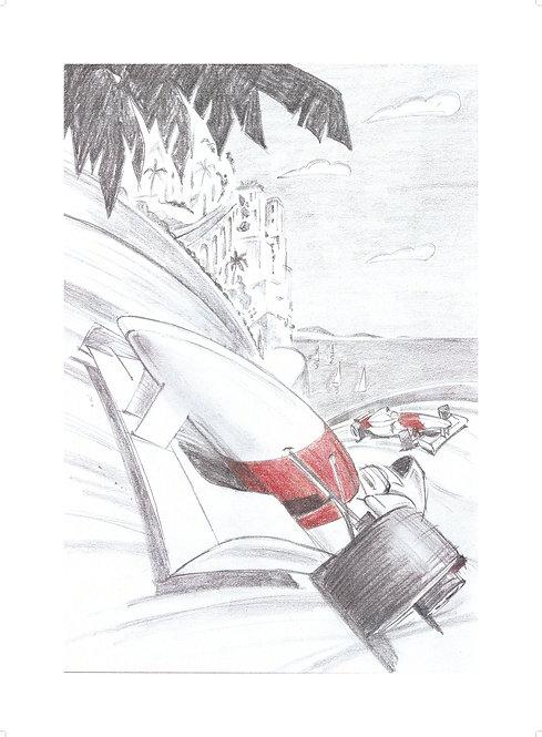 MOTORSPORT SERIES Sketch #3
