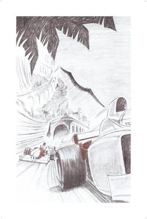 MOTORSPORT SERIES Sketch #5