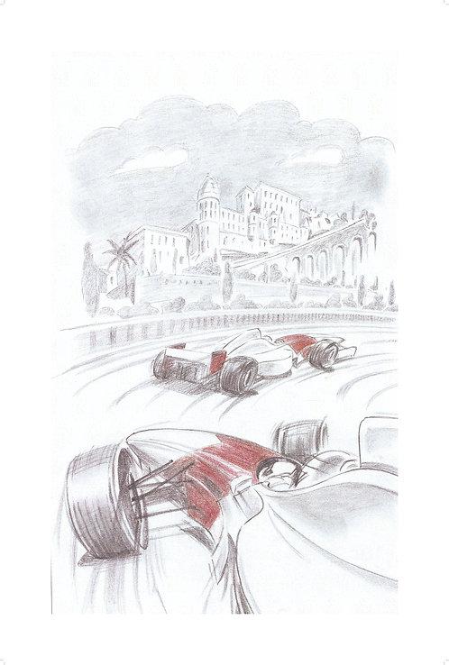 MOTORSPORT SERIES Sketch #1