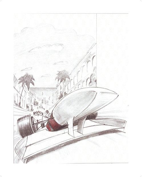 MOTORSPORT SERIES Sketch #2