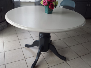 Benjamin Moore Advance Paint Table