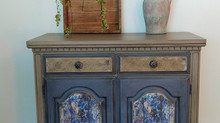 Old World Buffet Cabinet