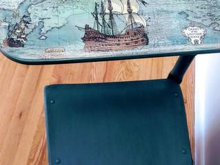Pirate desk chair