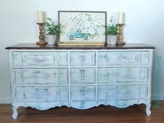 Distressed and Layered Colors French Provincial