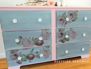 Flower transfer dressers