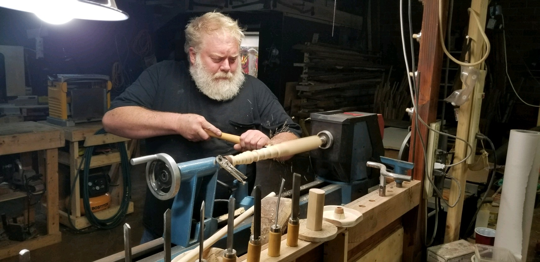 Don Darling - Tinkerer, Lathe Master