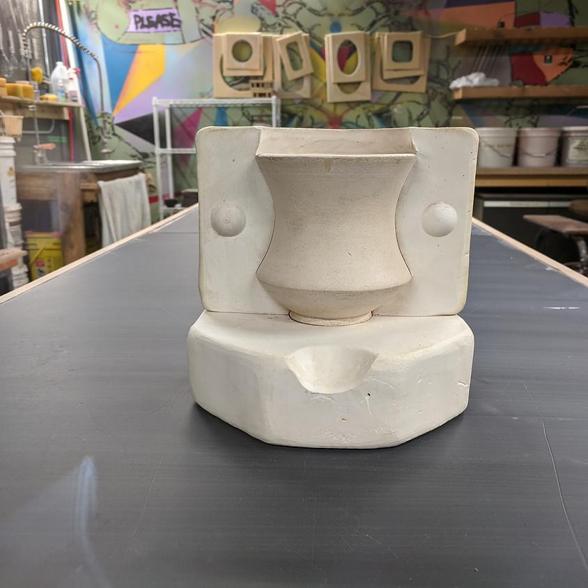 Ceramics: Intro to Slipcasting