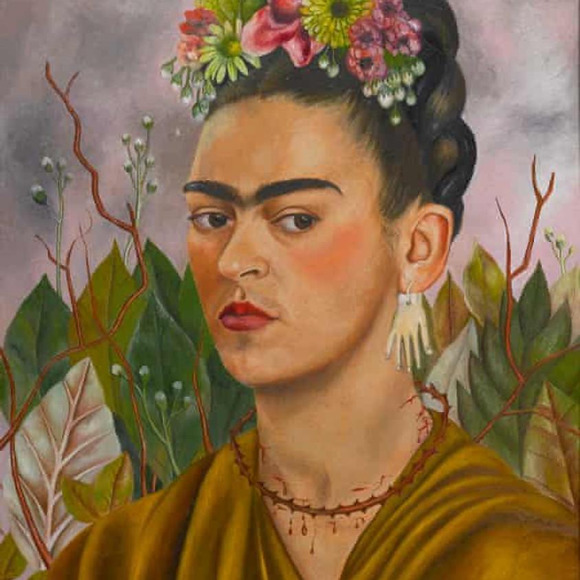 Kid's Art History Project- Frida Kahlo