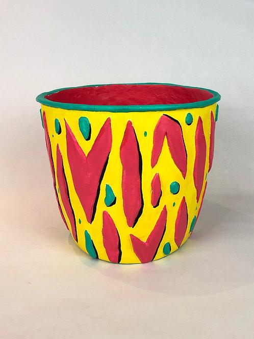 X Large Zebrina Pot