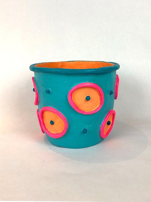 Medium Polka Dot Pot