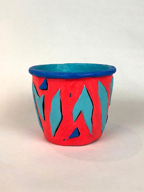 Medium Zebrina Pot