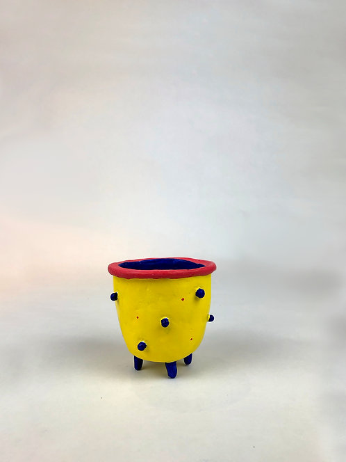 Yellow Mini Pot