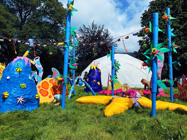 Illogical Land at Green Man festival