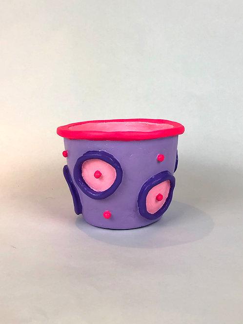 Small Polka Dot Pot