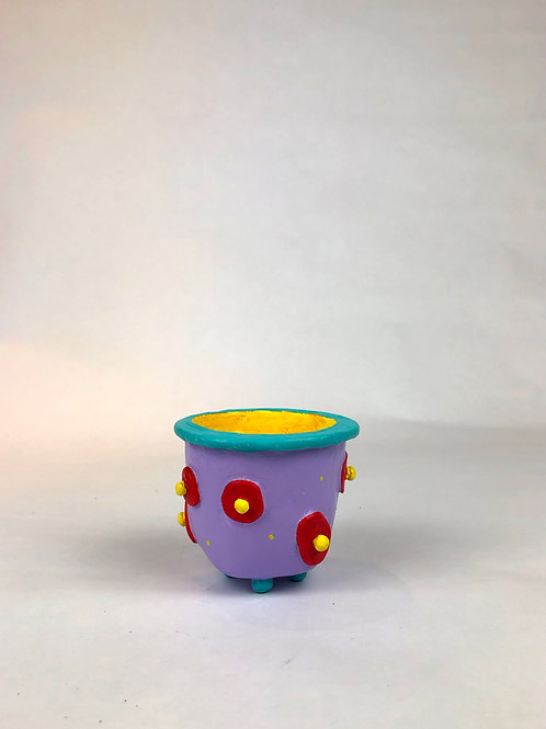 Purple Mini Pot
