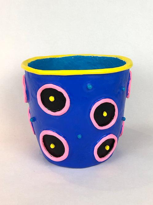 X Large Polka Dot Pot