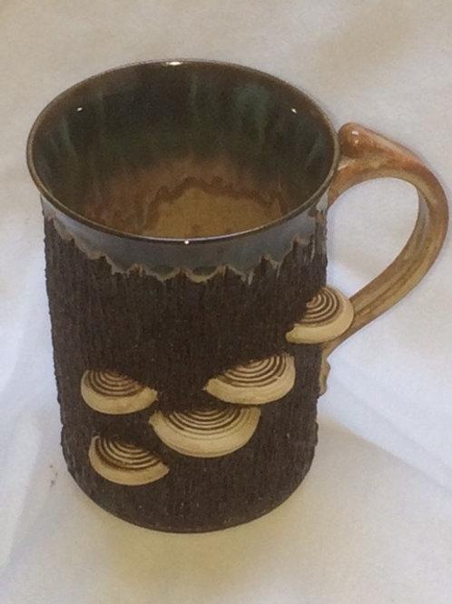 Mushroom Mug-Straight-green