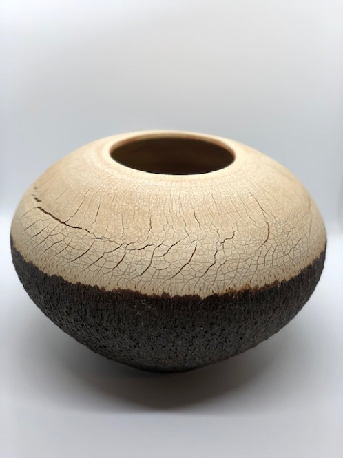 Crackle Bark Vase
