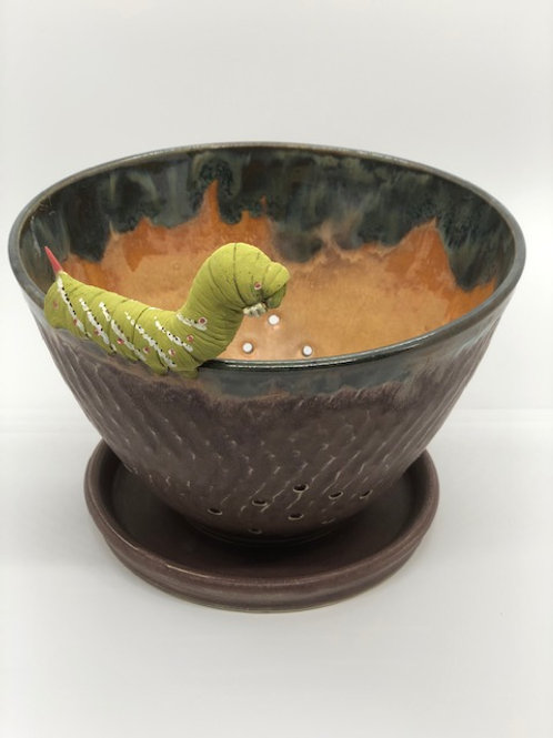 Tomato Horn Worm Berry Bowl