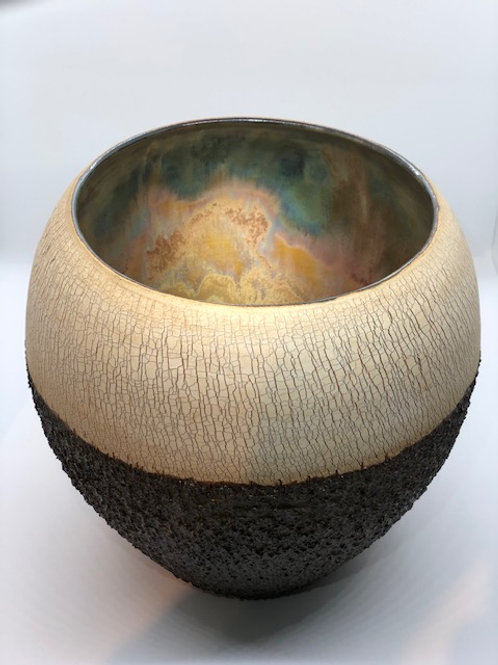Crackle Bark Bowl