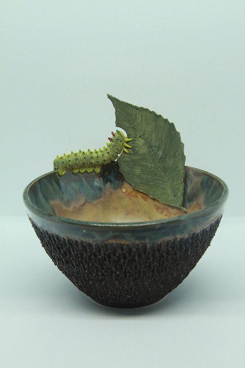 Caterpillar Bowl- Bark