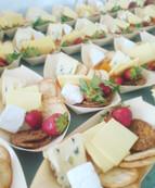 Cheese platter to finish off the Benalla