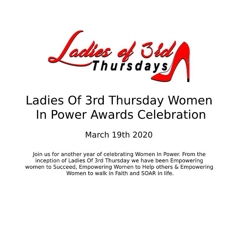 Ladies Of 3rd Thursday Women In Power Awards Celebration