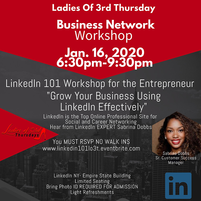 Ladies Of 3rd Thursday Business Workshop