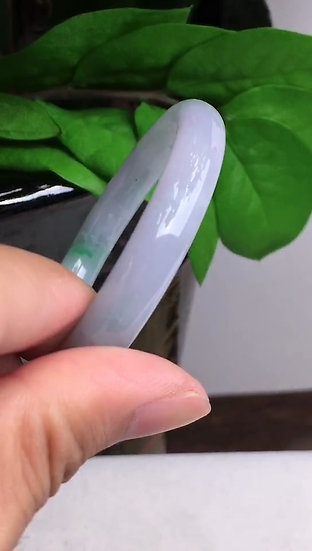 Purplish Jadeite Bracelet (S70003)