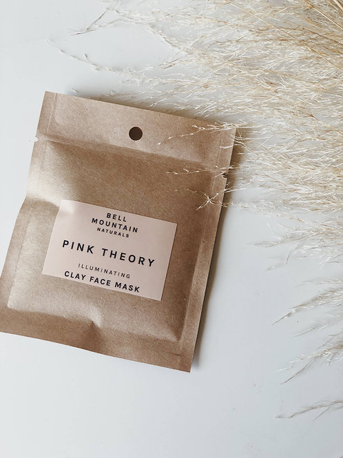 Pink Theory Illuminating Clay Face Mask