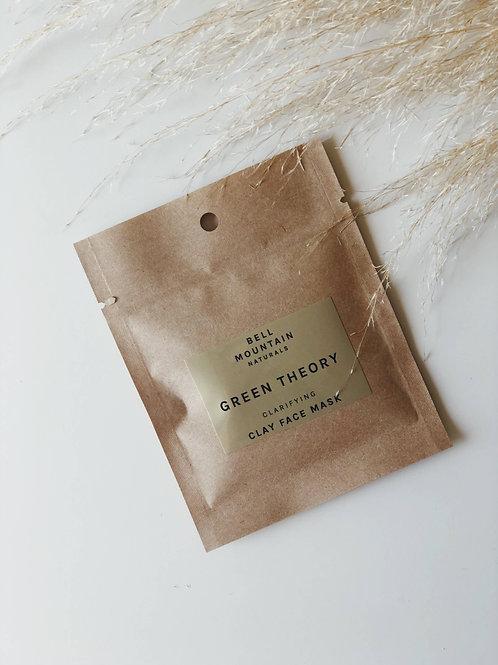 Green Theory Clarifying Clay Mask