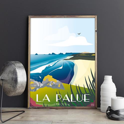 Affiche LA PALUE - CROZON