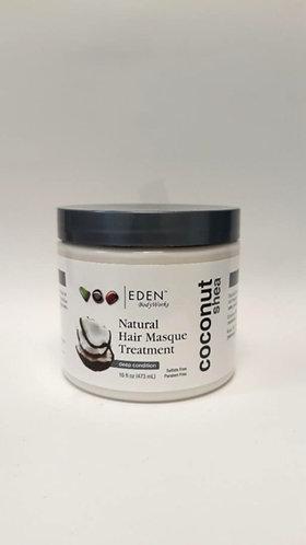 Eden Bodyworks Natural Hair Masque Treatment Coconut Shea