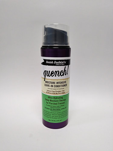 Aunt Jackie's Quench Moisture Intensive Leave-in Conditioner 4oz