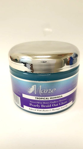 The Mane Choice Tropical Moringa Pearly Braid Out Glaze