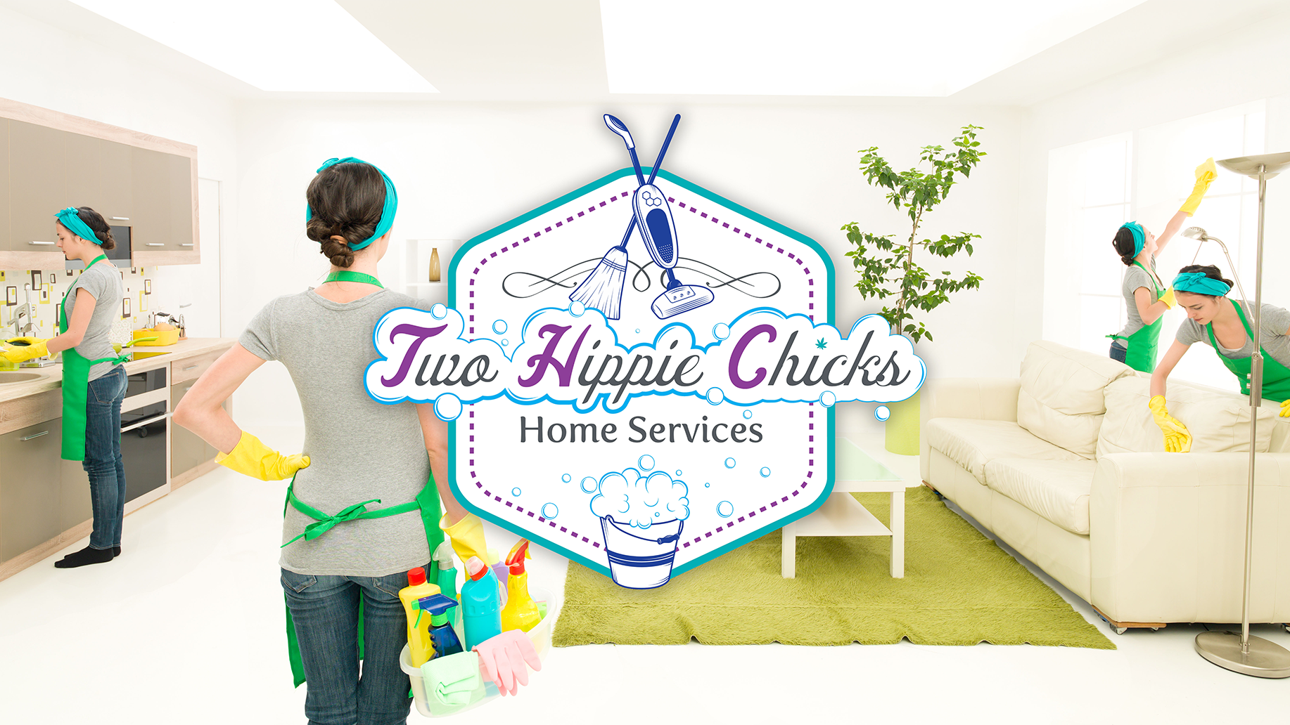 Two Hippie Chicks Home Services