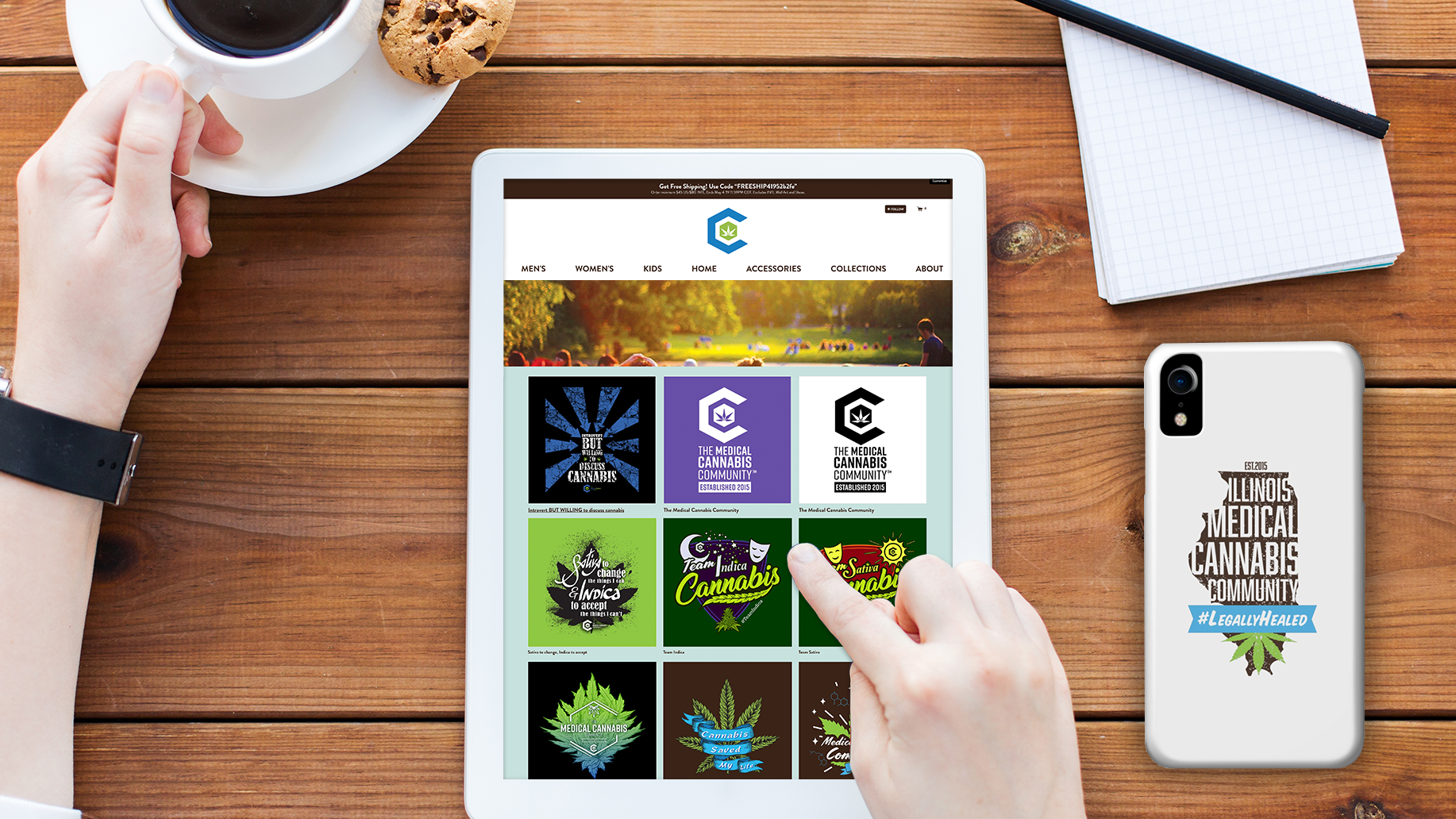The Medical Cannabis Community Store