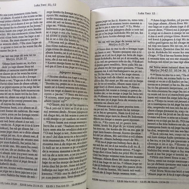 Bible Translation For The Kasem Tribe